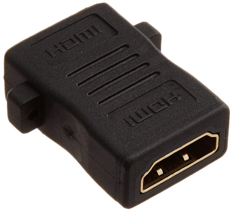 PLANEX HDMI延長用アダプタ (フラットタイプ) PL-HDMI-FFF-1