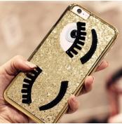 キラキラiPhone6Sカバー 大きな目 iPhone6Sカバー