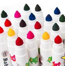 子供用 絵の具 カラーペン 水洗い可 12色/24色あり-1
