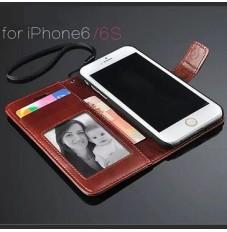 iPhone6s iPhone6 ケース 手帳型 カバー カード収納 ストラップホール付き