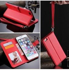 iPhone6 plus ケース 手帳型 カバー カード収納 ストラップホール付き いろいろな色が選び レザーカバー