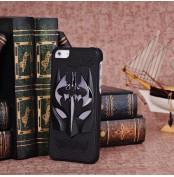 アイフォーン iPhone5S バットマンプリントケース アニメキャラプリントケース アイフォーンケース 3Dプリントエナメルスマホケース