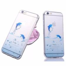 デザインケース iPhone6 iPhone5/5s iPhone6 plusケース アイフォ-ン6 カバー TPUソフトケース クリアケース