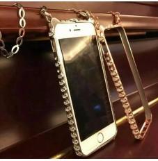 新品iphone6 Hello Kitty ダイヤをはめた金属カバー