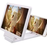 スマホ拡大鏡 スマホの画面が3倍ズーム 大画面化 折りたたみ式 軽量・薄型 ◇ スマホ用ズームスクリーン