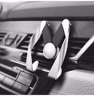 スマホホルダー 車載用 カーホルダー エアコン送風口 クリエイティブ iPhone6/iPhone6Plus/GALAXY/Nexus7対応