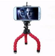 スマホホルダー付き カメラ三脚 携帯用三脚