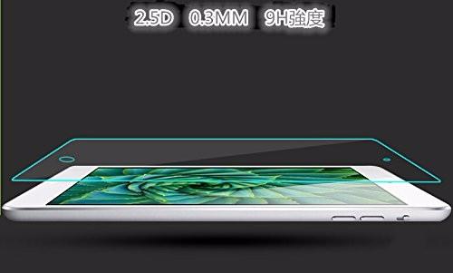 <国内発送>iPad mini4 強化ガラスフィルム高透過率液晶保護【弧度-1