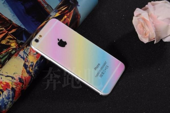<国内発送>iphone6 4.79H強化ガラスフィルム前後 虹0.2MM[ff]-1