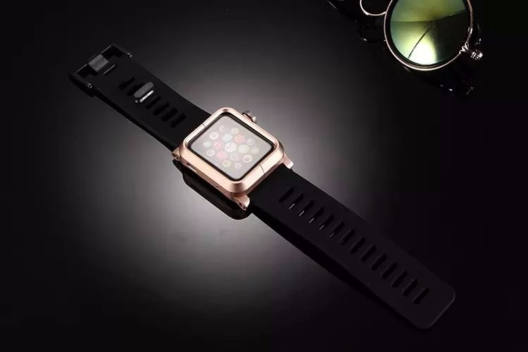 <国内発送料無>Apple Watch 42mm用 アルミ製ベルトセット 人気キット-1