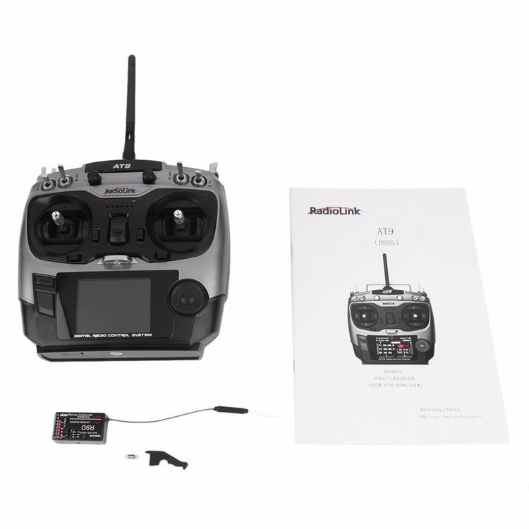 Radiolink ラジコン飛行機用リモコン AT9-2.4G R9Dサポート-1