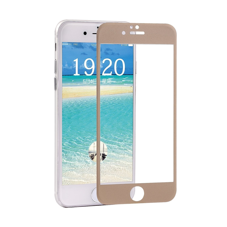 iPhone 6S Plus 強化ガラスフィルム PopSky™ 全4色 採用0.26mm 強化ガラス ラウンドカッティング 硬度9H ラウンドエッジ加工 iPhone 6S Plus 5.5インチ フルスクリーン耐指紋 撥油性 高透過率液晶保護フィルム