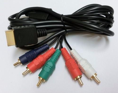 PS2/PS3用 コンポーネントAVケーブル ( プレイステーション2/3で使用可能 )