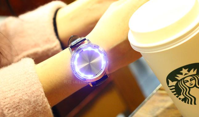 LED腕時計(タッチパネル式)-1
