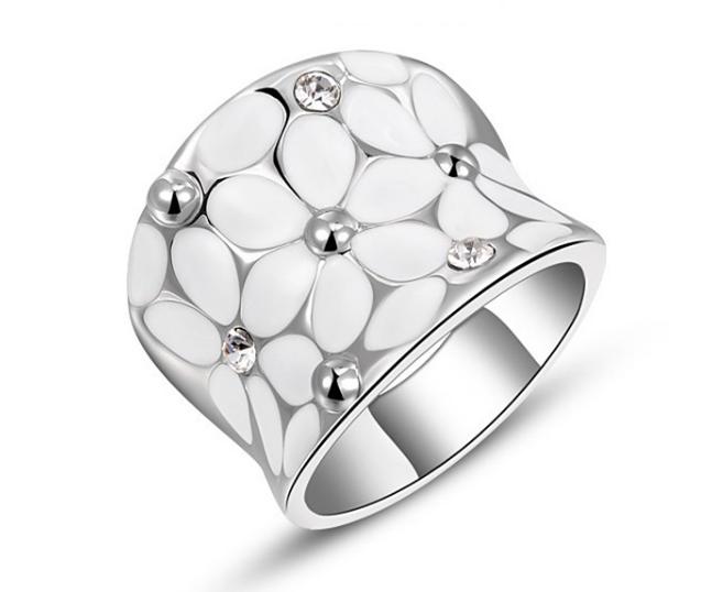 プラチナリング ダイアモンドモチーフ-1