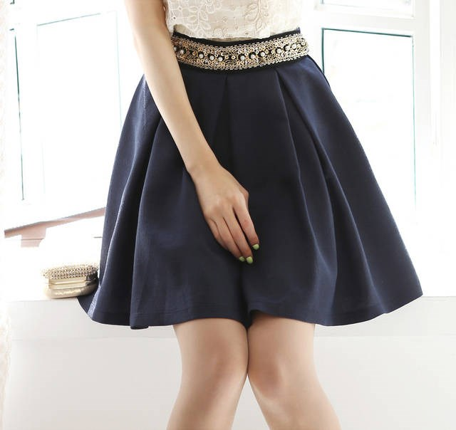 夏季  新作   レディースファッション    シフォン   短いスカート   スカート