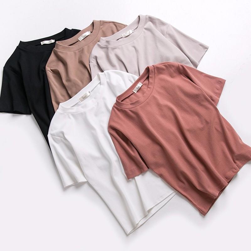 2017夏新作多色純綿Tシャツ