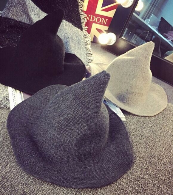 ☆2017AW新作☆ニット帽子 個性 手軽く収納 防寒 小顔効果 6色