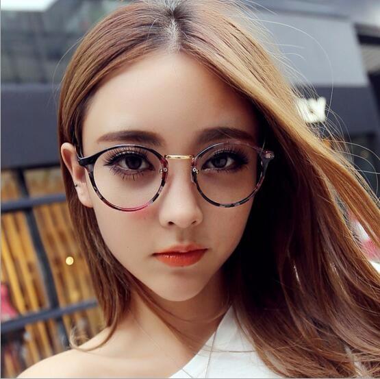 ★2017秋新作★メガネ おしゃれ 丸めがねの縁 かわいい 6色