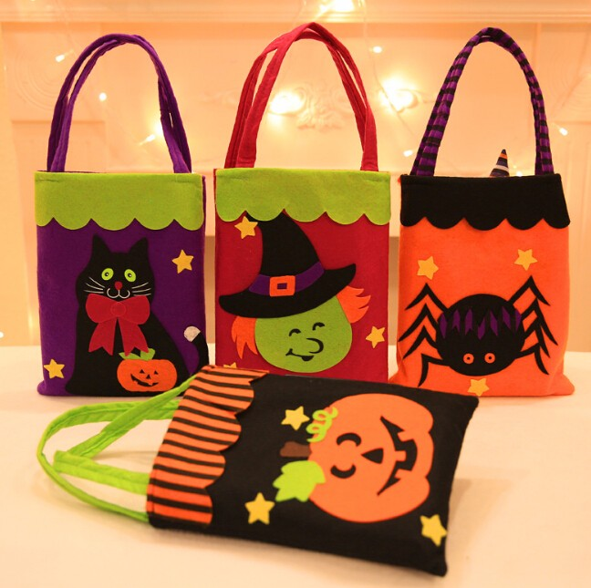 ★ハロウィーン★バッグ  かぼちゃ おもちゃ お菓子入れ  仮装 6色