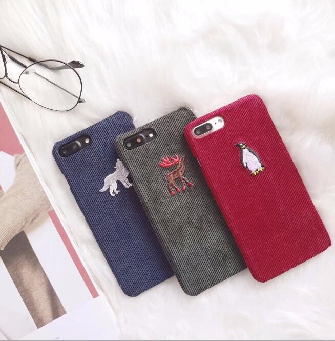 レディースファッション iphone iPhoneX iphone8 カバー アイフォンケース ケースカバー 動物 トナカイ ペンギン オオカミ