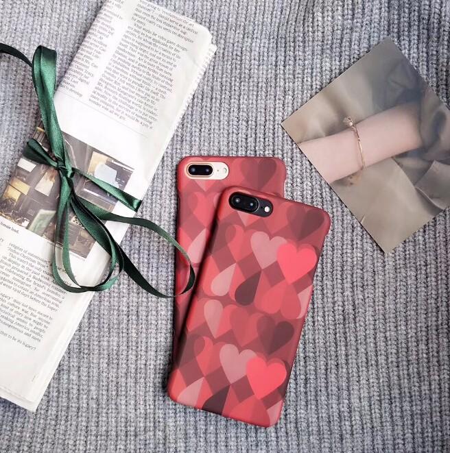 レディースファッション iphone iPhoneX iphone8 カバー アイフォンケース ケースカバー ハート柄