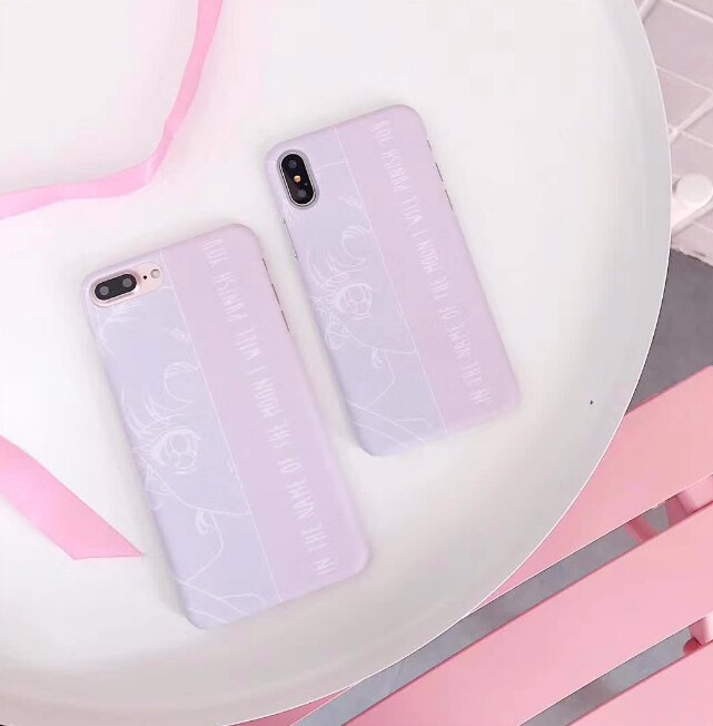 レディースファッション iphone iPhoneX iphone8 カバー アイフォンケース ケースカバー セーラームーン