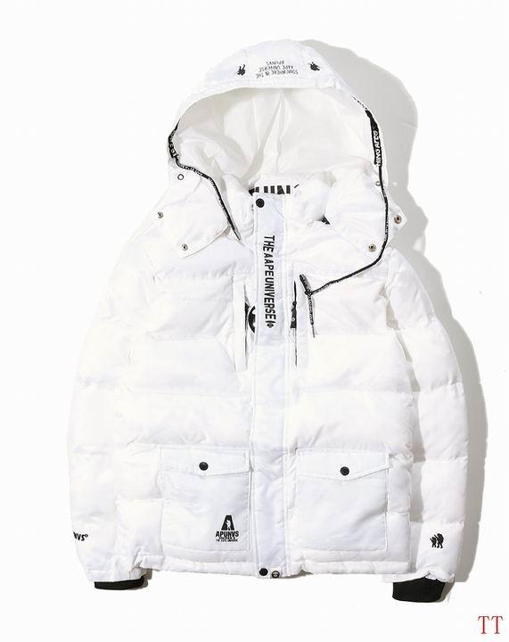 AAPE防寒服綿入れジャケット冬服保温コート迷彩防寒服上品上質特売
