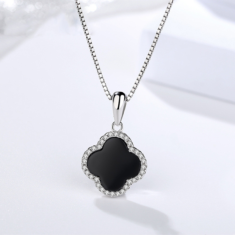 ブラックオニキス ネックレス レディース ファッション ジュエリー プレゼント アクセサリー ペンダント 925シルバー