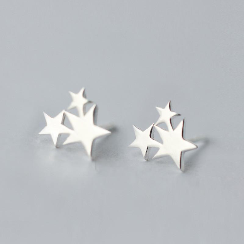送料無料 可愛い 星のピアス レディースS925 イヤリング 耳スタッドレディース ファッション 小物 ジュエリー アクセサリー プレゼント ギフト