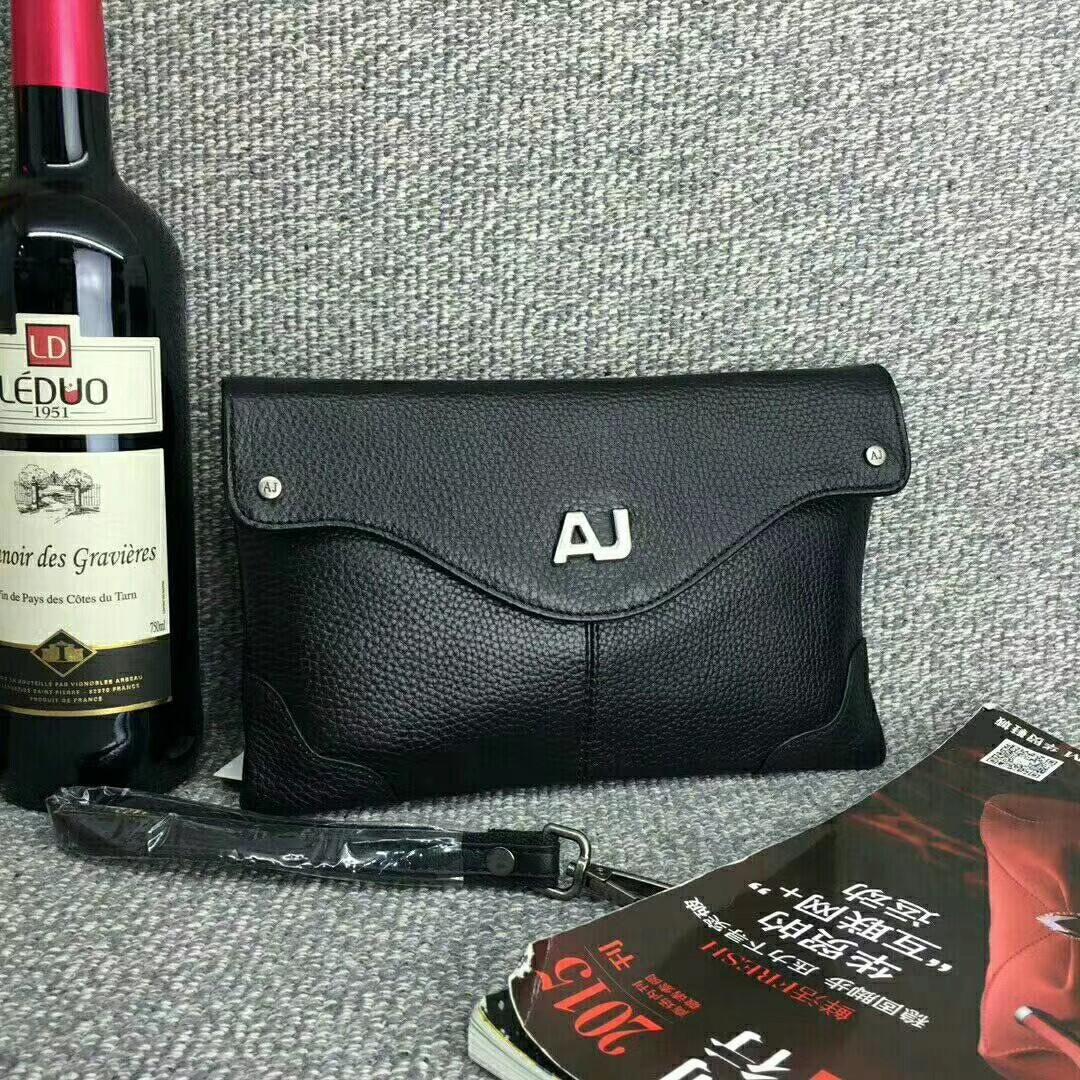 本格本革製メンズバッグ財布ハンドバッグAJ上品上質