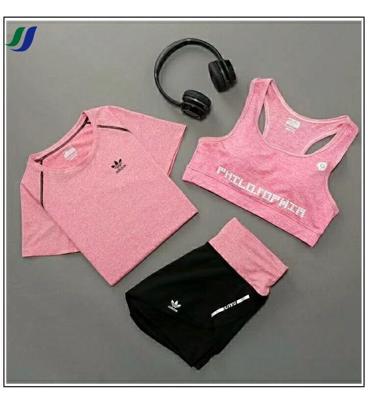 トレーニングウェアyogaヨガー服運動服三点セットパンツスポーツウェア特売