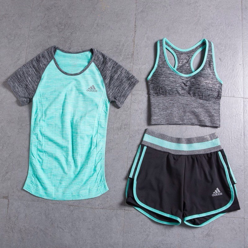 トレーニングウェアyogaヨガー服運動服三点セット長パンツスポーツウェア特売
