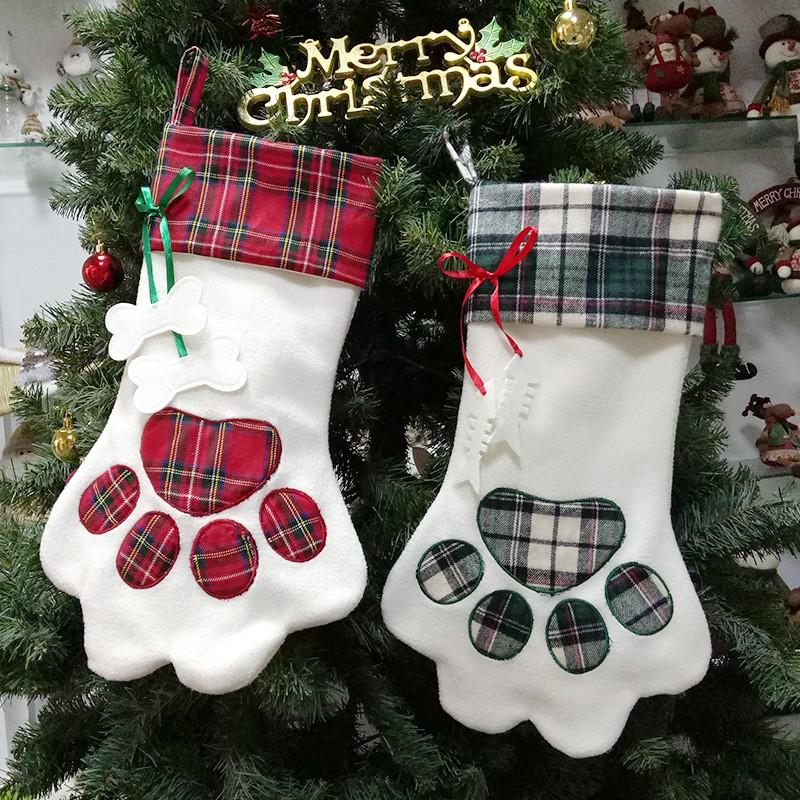 クリスマス 飾り クリスマスソックス ギフト袋-1