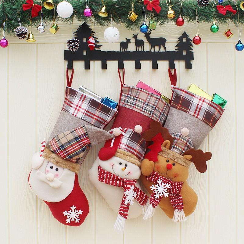 クリスマス 飾り クリスマスソックス かわいい-1