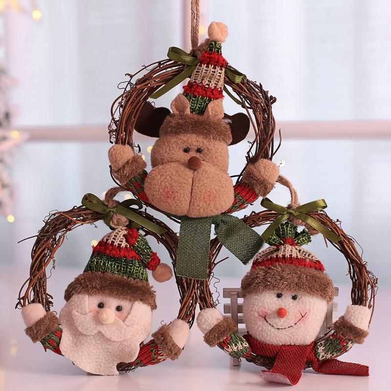 クリスマス 装飾藤輪 クリスマス飾り-1
