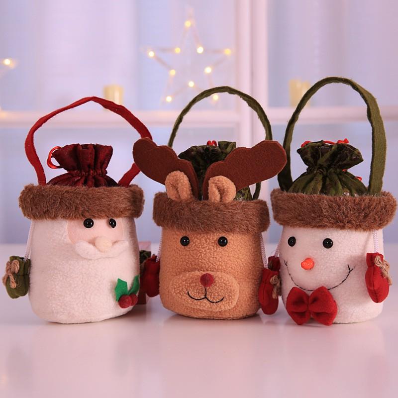 クリスマス 手持ちキャンディ袋 ギフト袋