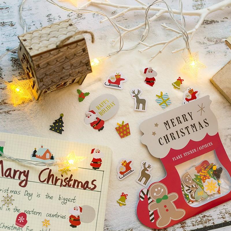 クリスマス クリスマスシール 手帳用 飾り用-1