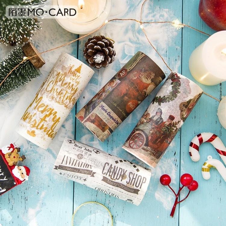 クリスマス 10cm和紙テープ