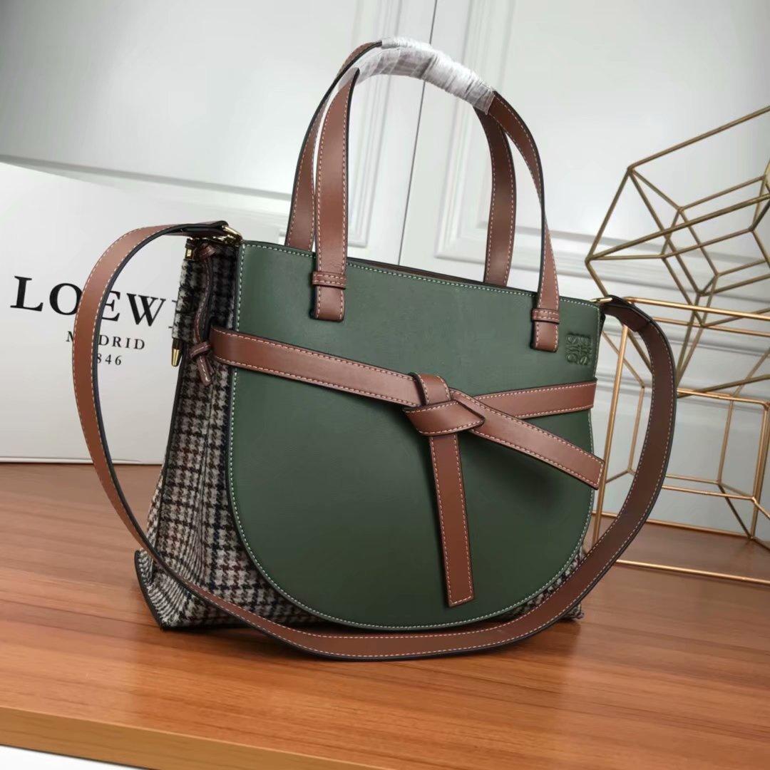 LOEWEハンドバッグ レデイースファションバッグ