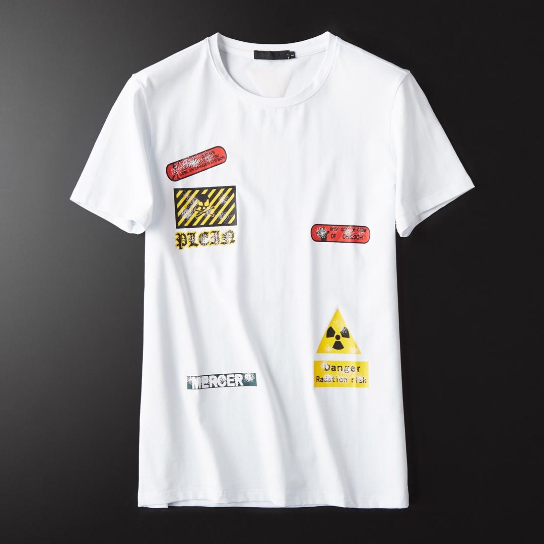 2019  男 ラウンドネック  Tシャツ 上品上質 メンズTシャツ