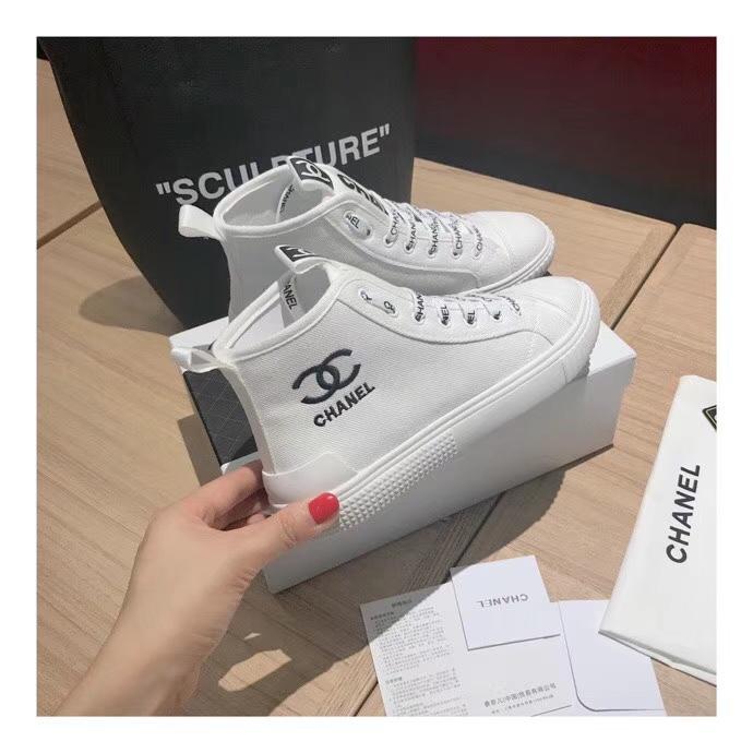 ズックファション靴 カジュアルシューズ シャネル上品2019新品