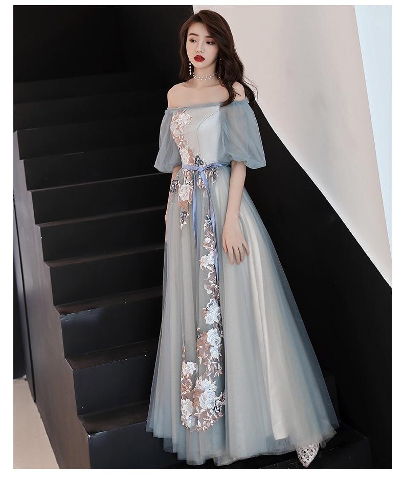 2019   ドレス  イブニングスカート  ロングスカート  タキシード スカート ワンピース-1