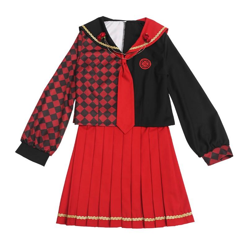 刀剣乱舞 加州清光  オリジナルセーラー服 コスプレ衣装