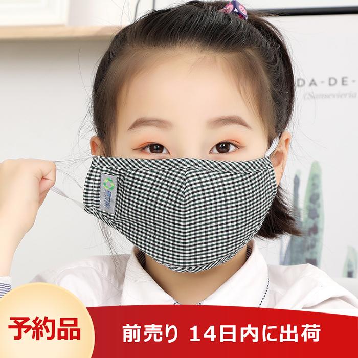3層構造 子供マスク 飛沫防止 5枚