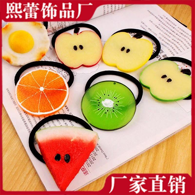 可愛い 果物 ヘアゴム