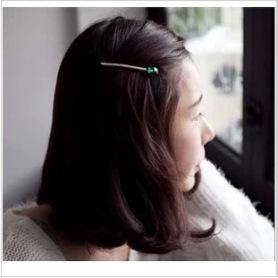 韓国風 ファッションパールヘアピン