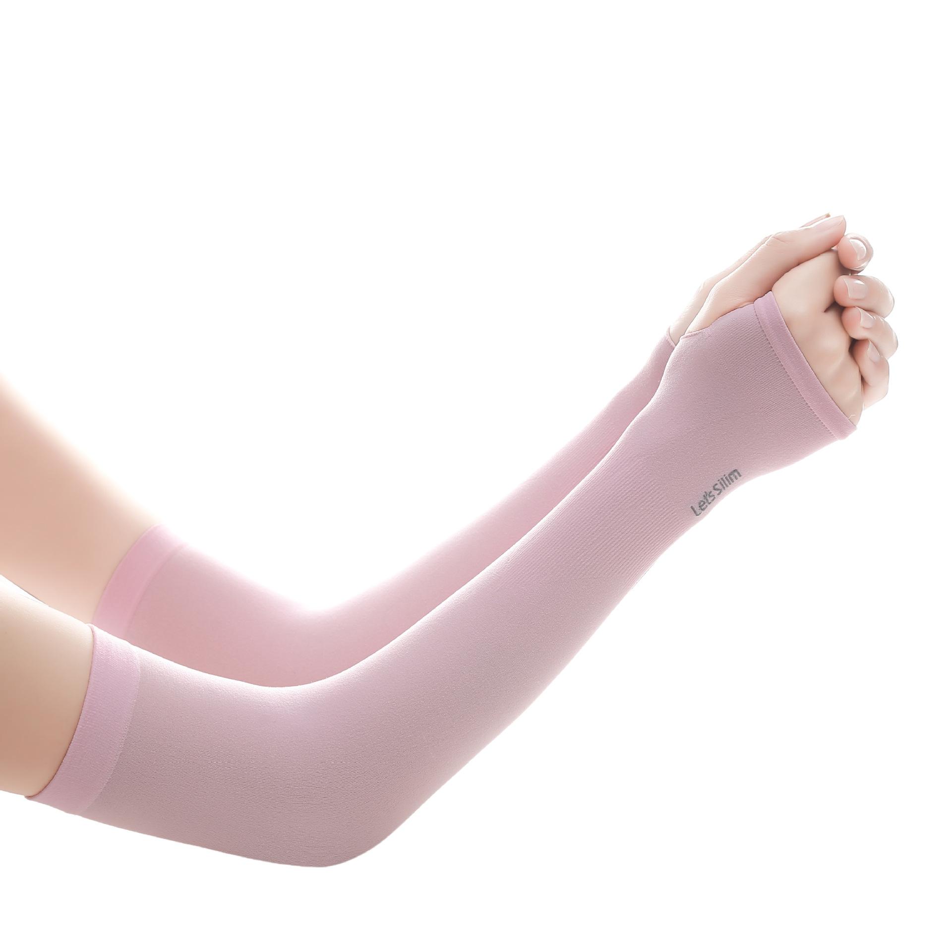 ピンクの親指