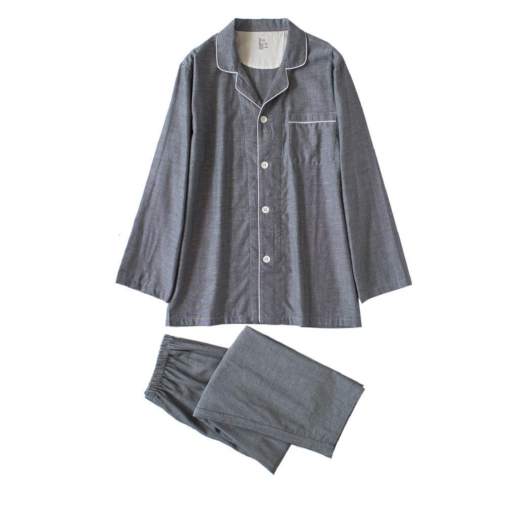 深い灰の長袖/男性