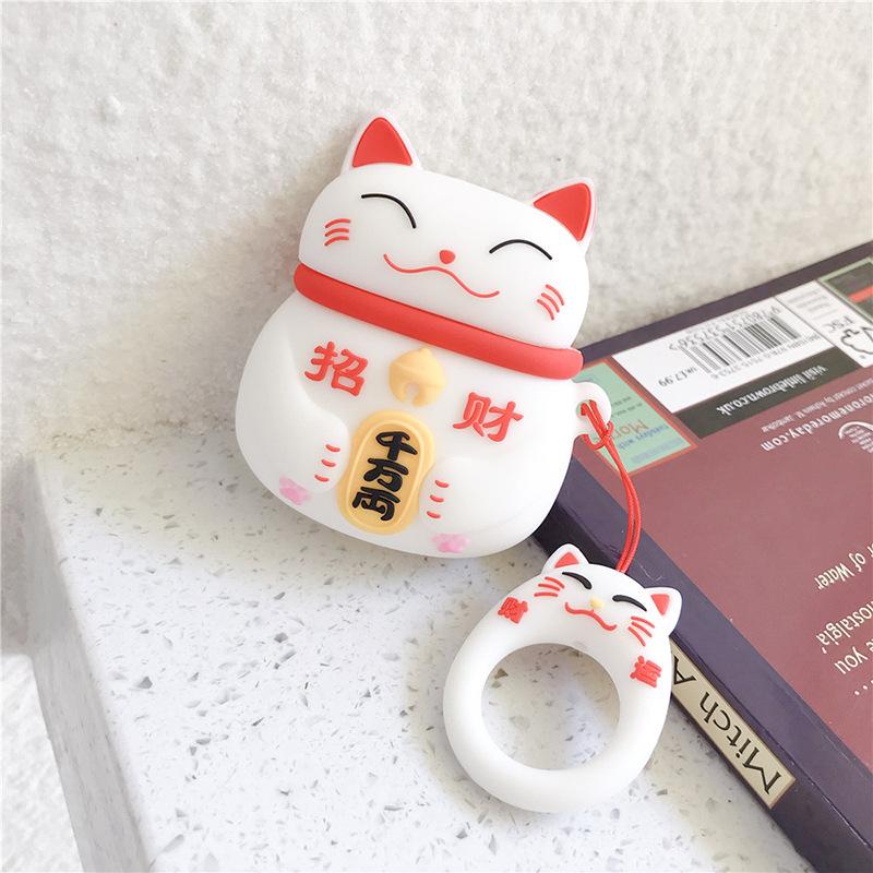 招き猫+指輪